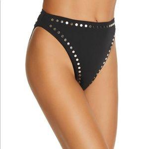 Dolce Vita Stellar Studs High-Waist Bikini Bottom